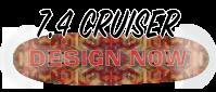 design a zip zinger type skateboard deck cruiser